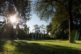 Photo by Katherine Turner. The Columns in Sylvan Grove.